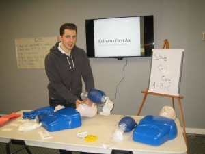 Kelowna First Aid standard first aid and CPR training in Kelowna, B.C.