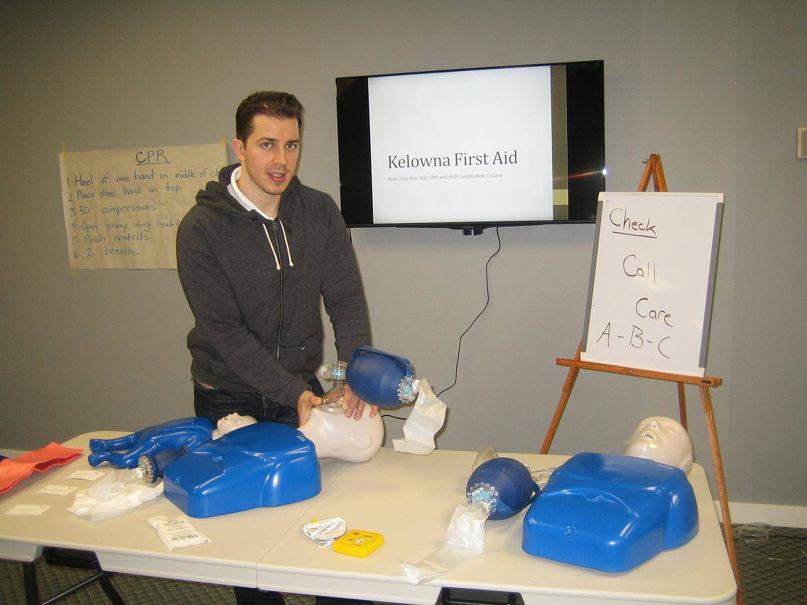 Standard First Aid Courses in Kelowna