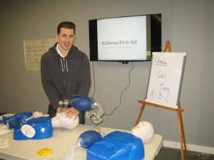 workplace approved CPR level 'A' and AED course in Kelowna, B.C.