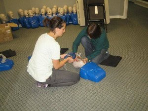 Kelowna First Aid CPR'C' and AED training in Kelowna, B.C.