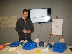 Emergency first aid course in Kelowna